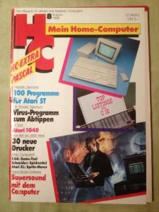 HC - Mein Home-Computer 8/1986 August