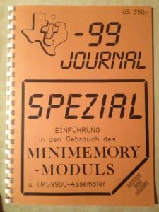 TI-99 Journal Spezial Mini Memory
