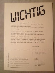 Preprint Disclaimer