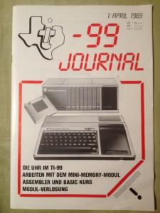 TI-99 Journal 1/1983