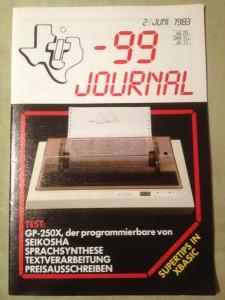 TI-99 Journal 2/1983
