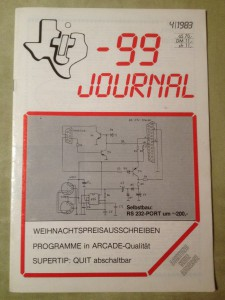 TI-99 Journal 4/1983