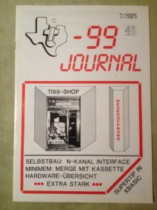 TI-99 Journal 7/1985
