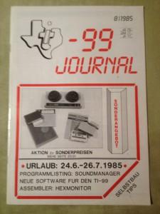 TI-99 Journal 8/1985