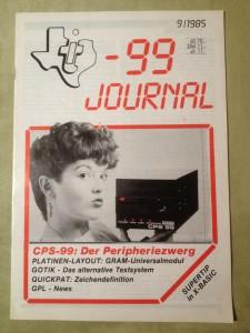 TI-99 Journal 9/1985