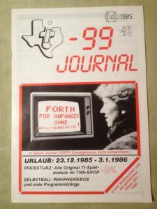 TI-99 Journal 10/1985