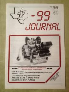 TI-99 Journal 11/1986