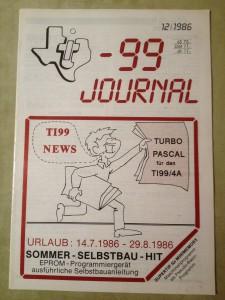 TI-99 Journal 12/1986