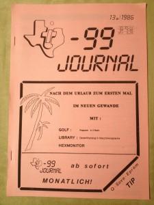 TI-99 Journal 13a/1986
