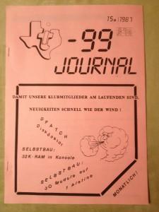 TI-99 Journal 15a/1987