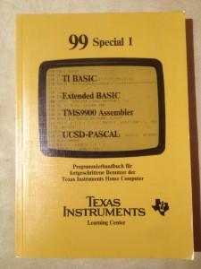 99 Special I 295/73830 ISBN 3-88078-043-9 © 1983 Apesoft