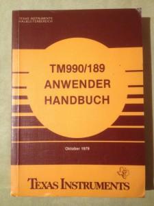 TM990/189 Anwender Handbuch DN AL921 449S/C no ISBN number © 1979 Texas Instruments
