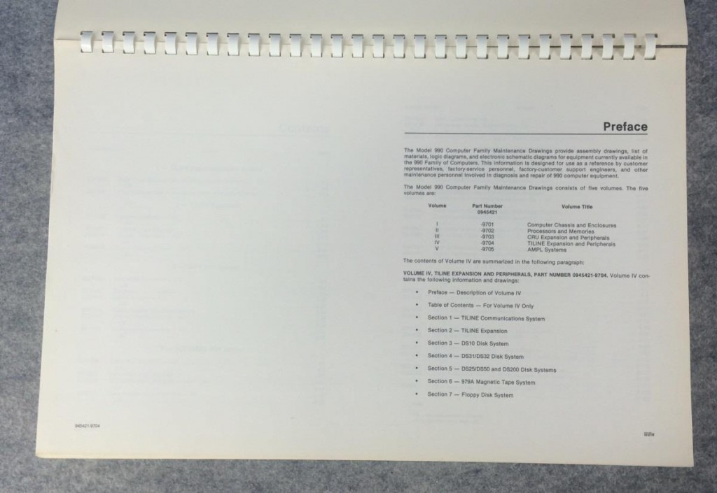 TILINE Expansion and Peripherals Volume IV 945421-9704