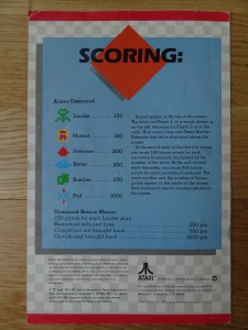 Defender RX8506 © 1983 Atari, Inc.