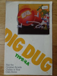Dig Dug RX8509 © 1983 Atari, Inc.