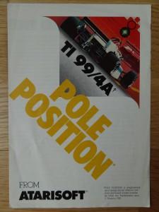 Pole Position RX8534 © 1984 Atari, Inc.
