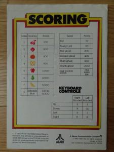 Ms.Pac-Man RX8543 © 1984 Atari, Inc.