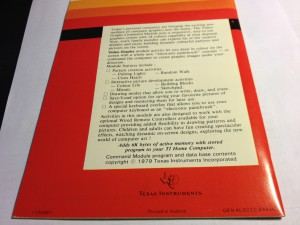 Video Graphs (I do not own this manual) PHM 3005, 1104987 © 1979 Texas Instruments