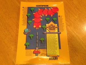 Centipede™, Packaging Back Atarisoft RX 8503, TI-99/4A © 1983 Atari, Inc.