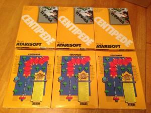 Centipede™, Packaging Boxes Atarisoft RX 8503, TI-99/4A © 1983 Atari, Inc.