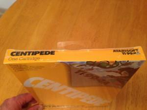 Centipede™, Packaging Top Atarisoft RX 8503, TI-99/4A © 1983 Atari, Inc.