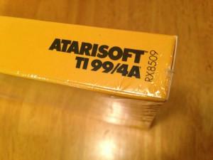 Dig Dug™, Productcode Atarisoft RX 8509, TI-99/4A © 1983 Atari, Inc.