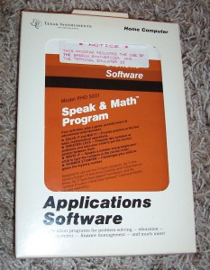 Speak & Math Program PHD 5031