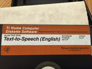 Text To Speech-English PHD 5076