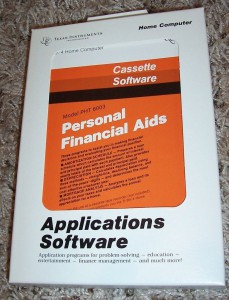 Personal Financial Aids PHT 6003